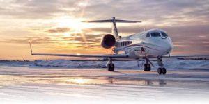 Christmas Gulfstream Private Jet