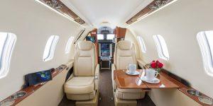 Interior Learjet 75